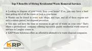 Residential Waste Removal Services Langley