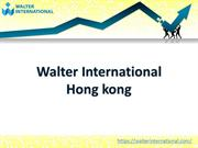 Walter International Hong kong
