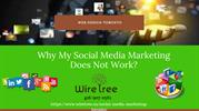 Why My Social Media Marketing Does Not Work