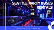 Avail Seattle Party Bus Rental Services with Pole at Best Prices