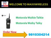 Motorola Walkie Talkie Maxxwireless