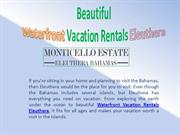 Beautiful Waterfront Vacation Rentals Eleuthera
