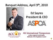 Ed Sayres at ACC-D