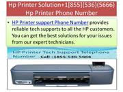Hp Printer Solution+1[855]{536}(5666) Hp Printer Phone Number