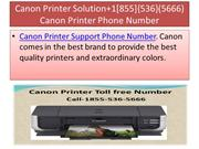 Canon Printer Solution+1[855]{536}(5666) Canon Printer Phone Number