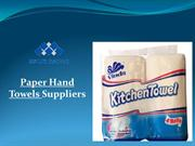 Paper Hand Towels by Multi Range