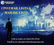 CPO EMAIL LISTS & MAILING LISTS