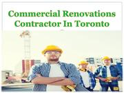 Commercial Renovations Contractor In Toronto