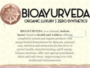 BIOAYURVEDA Anti-Cellulite Body Oil