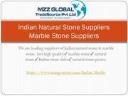 Indian Natural Stone Suppliers