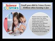 Enroll your child to Science Cosmos Ashburn where learning is fun