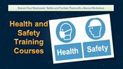 Secure Your Organization with Health and Safety Training Courses