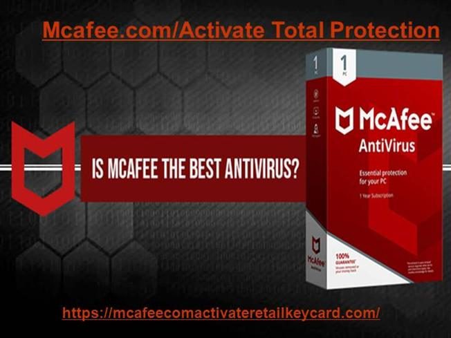Mcafee Activate Total Protection |authorSTREAM