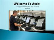 It Support Services For The Financial Industry