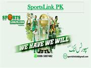 Latest Sports News By SportsLink PK