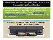Canon Printer Solution+1[855]536(5666) Canon Printer Technical Service