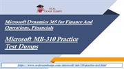 MB-310 Practice Question Answers -  MB-310 Exam PDF