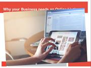 Why your Business Needs an Online Listing