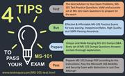 Anyone can get success in MS-101 with good grades