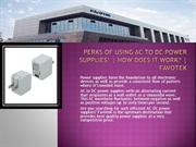 AC to DC Power Supplies with Best Power Factors – Order at Favotek