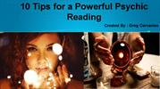 10 Tips for a Powerful Psychic Reading