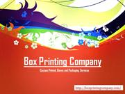 The Right Custom Printed Boxes For Your Products