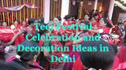 Teej Festival With Arun Flowers and Balloon Decorators