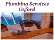 Plumbing Services Oxford