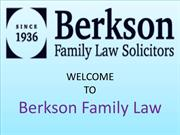 Berkson Family Law Solicitors | Divorce & Family Law | Liverpool |