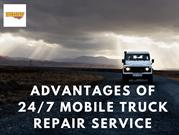 Advantages of 24/7 Mobile Truck Repair Service
