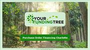Purchase Order Financing Charlotte NC