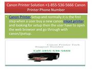 Canon Printer Solution - 1-855-536-5666 Canon Printer Phone