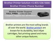 Brother Printer Solution -1-855-536-5666 Brother Printer Phone