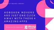HOBOKEN MOVERS ARE JUST ONE CLICK AWAY WITH THESE 4 AMAZING APPS-conve