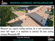 Roofing Company Minneapolis MN