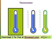 Thermometer - Free Powerpoint Diagram