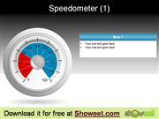 Speedometer  Free Powerpoint Diagrams