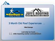 Roof Repair Needed after Roof Inspection