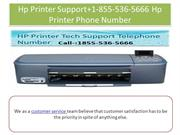 Hp Printer Support+1-855-536-5666 Hp Printer Phone Number