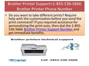 Brother Printer Support+1-855-536-5666 Brother Printer Phone Number