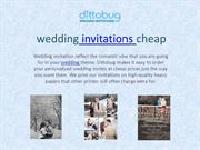 wedding invitations cheap