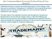 How Trademarks Help In Protecting The Brand Value Of Your Business?
