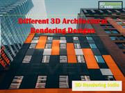 Different 3D Architectural Rendering Designs - 3D Rendering India