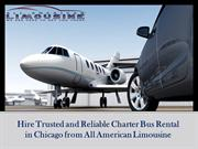 Hire Trusted and Reliable Charter Bus Rental in Chicago from All Ameri