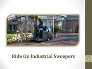 Ride On Industrial Sweepers - Best Service Providers