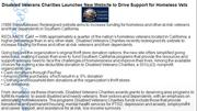 Disabled Veterans Charities Launches New Website to Drive Support