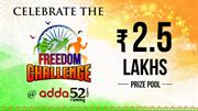 Celebrate the Freedom Challenge at Adda52 Rummy, Win 2