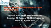 We Are Best MLM Plan maker in Delhi NCR and India