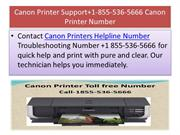 Canon Printer Support+1-855-536-5666 Canon Printer Number