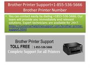 Brother Printer Support+1-855-536-5666 Brother Printer Number